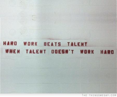 hardworkbeatstalent
